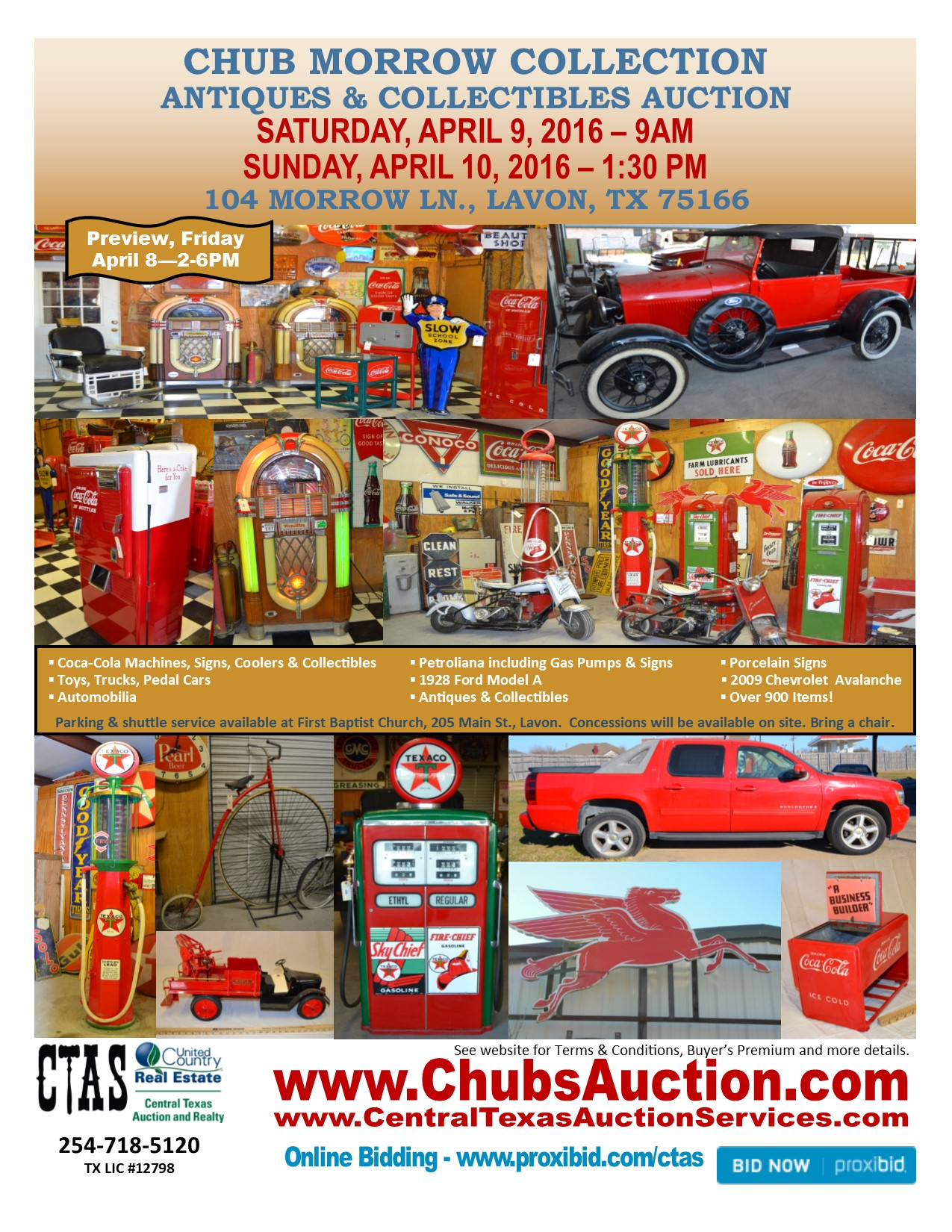 2016, Apr 9 - Chub Morrow Collection - Collectibles