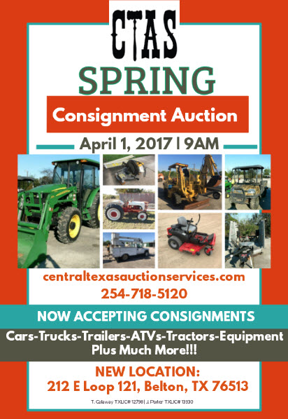 spring consignment flyer
