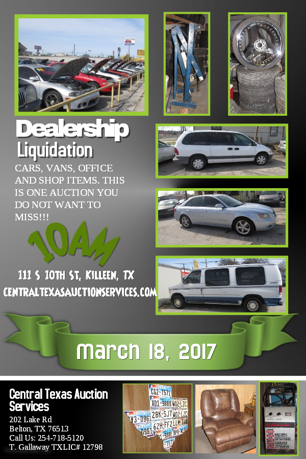 Dealership Flyer