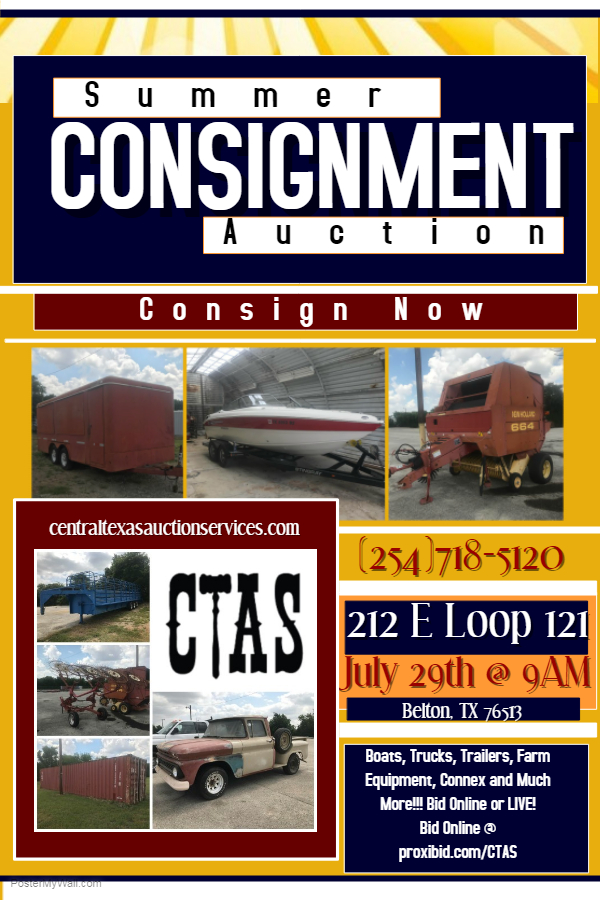 Summer Consignment Flyer
